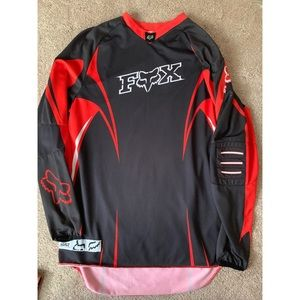 Fox Riders Black and Red Jersey